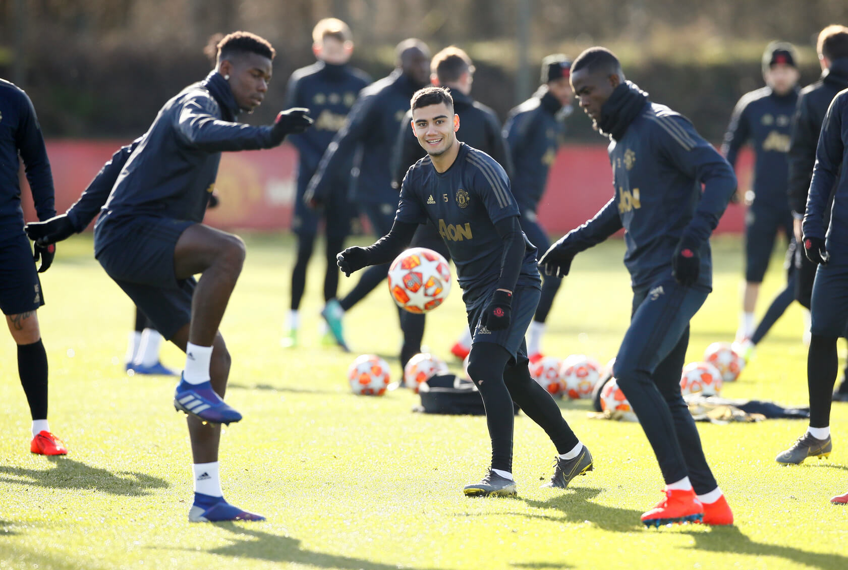 Paul Pogba, Andreas Pereira, Eric Bailly, Manchester United, England
