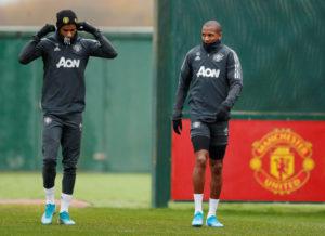 Marcus Rashford og Ashley Young, Manchester United, England