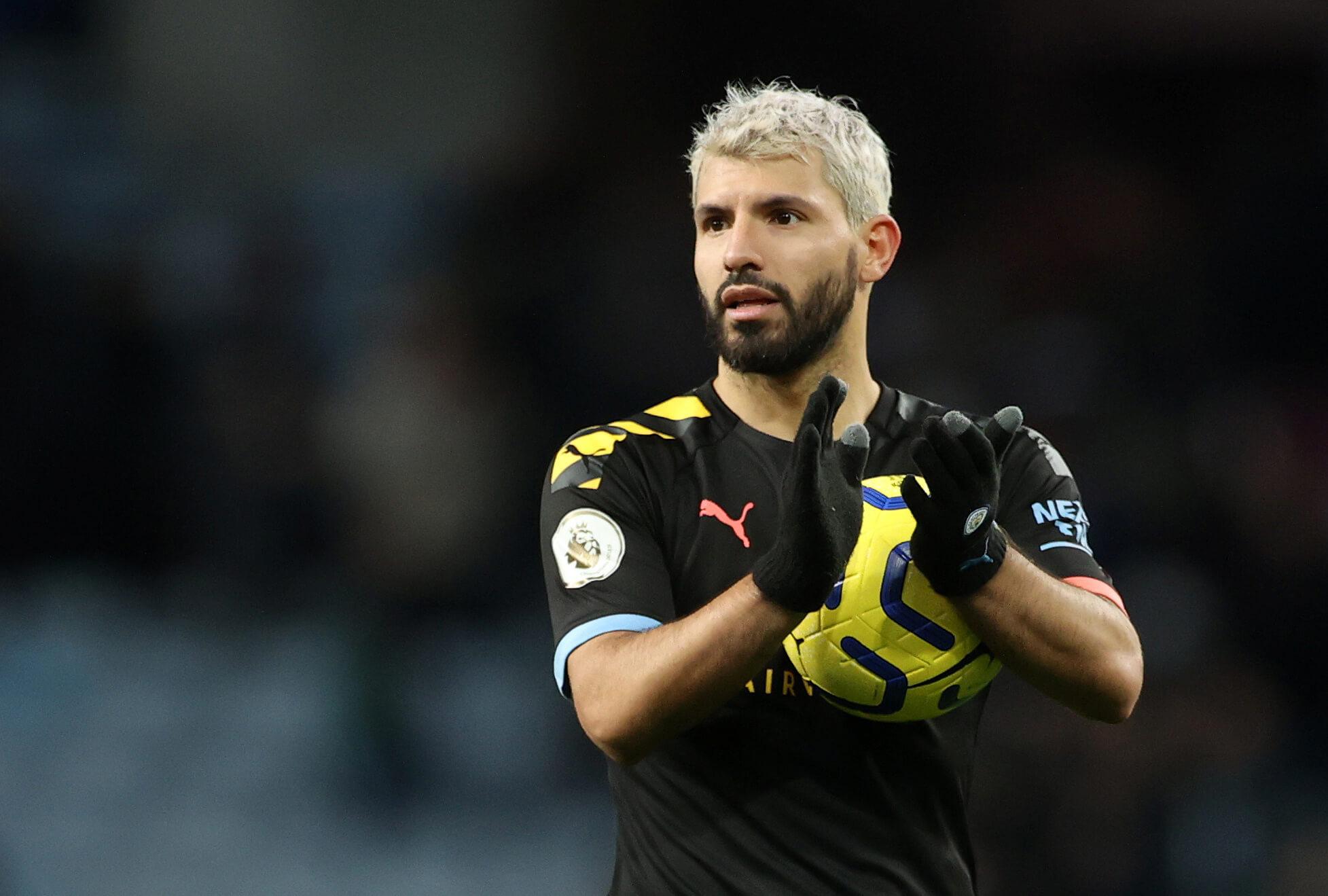 Sergio Aguero, Manchester City, England