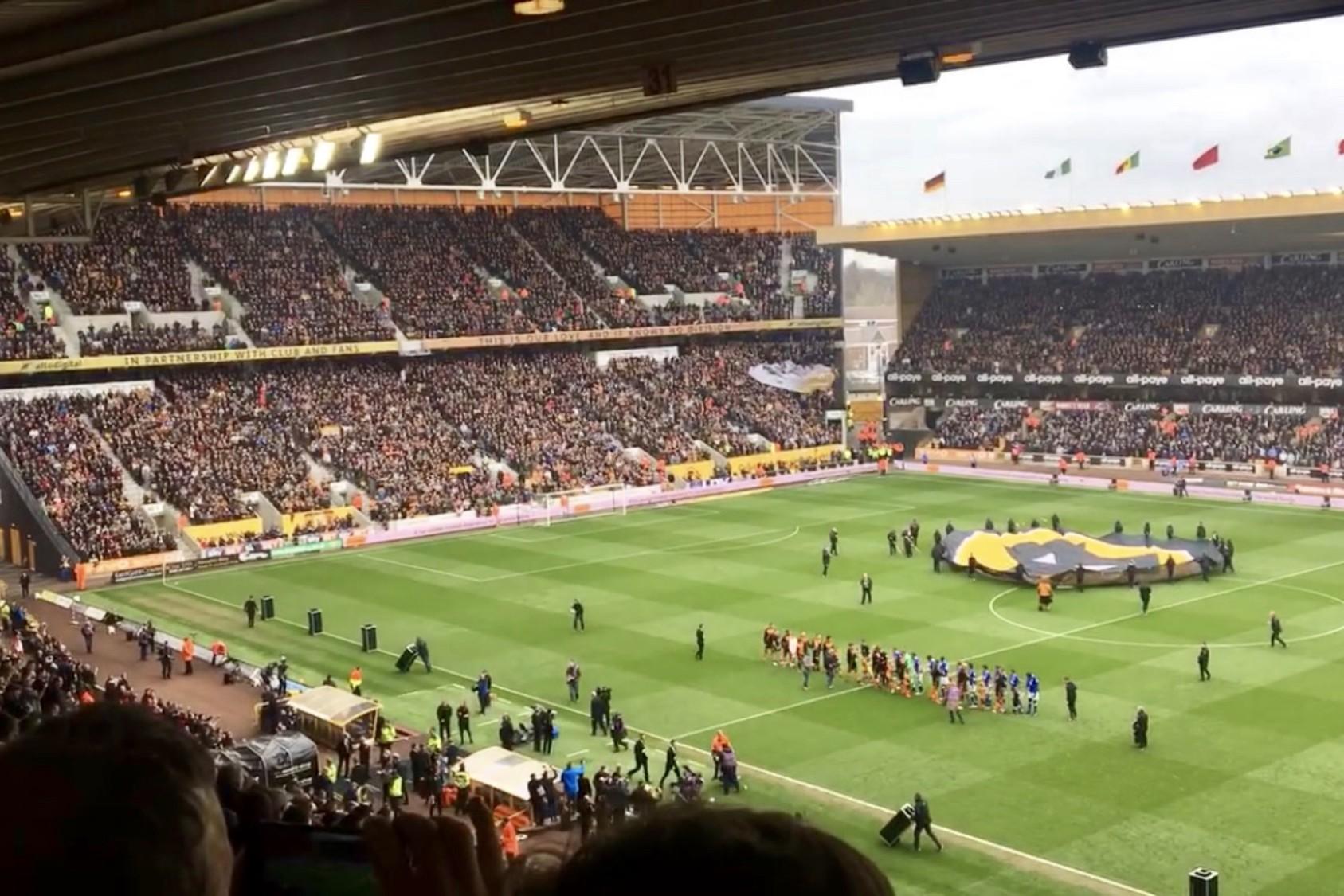Wolverhampton, Molineux Stadium, England